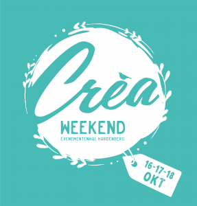 Logo crea weekend najaar