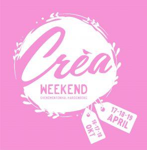 Logo crea-weekend voorjaar