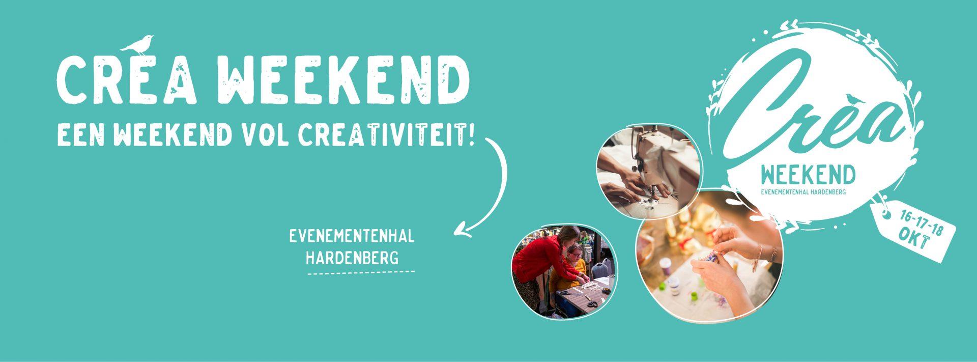 Crea Weekend Hardenberg gaat door!
