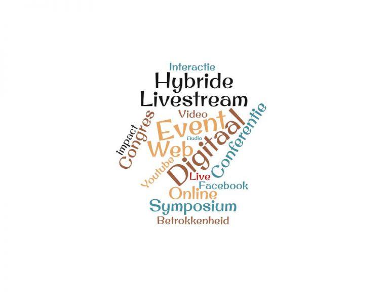 Hybride events zijn de uitkomst!